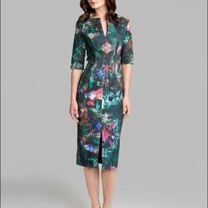 Ted Baker - Iyana 3/4 Length Bodycon Dress